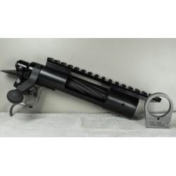 Remington Model 700 Short Action w/ PTG .7005 Bolt, Rem Trigger, and Picatinny Rail