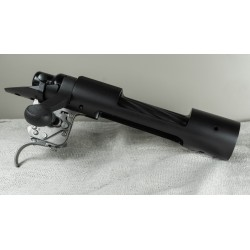 Remington Model 700 Short Action Standard RH w/ PTG Bolt, Rem Trigger, and Emma Creek Scope Mount