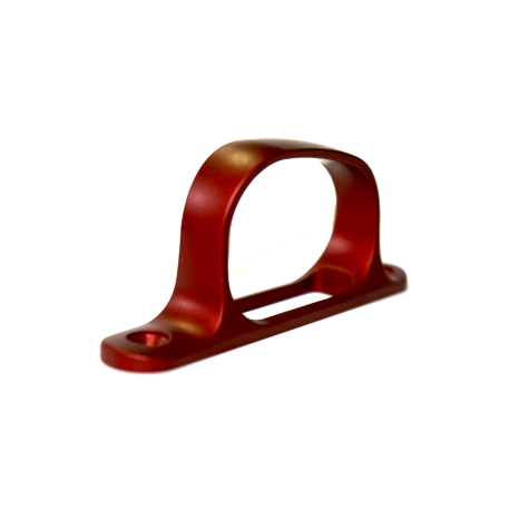 Remington 700 Trigger Guard - Red Anodized Aluminum