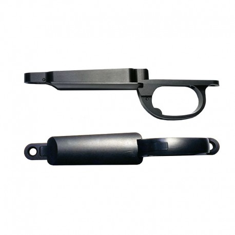 Remington 700 SA Oberndorf Bottom Metal- Black Anodized Aluminum