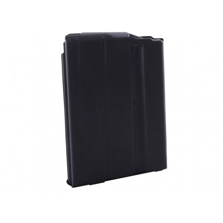 7.62x39 5 Round SS Magazine Matte Black Finish Black Follower