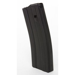 .223 Cal 30 Round AL Magazine Black Teflon Black Follower