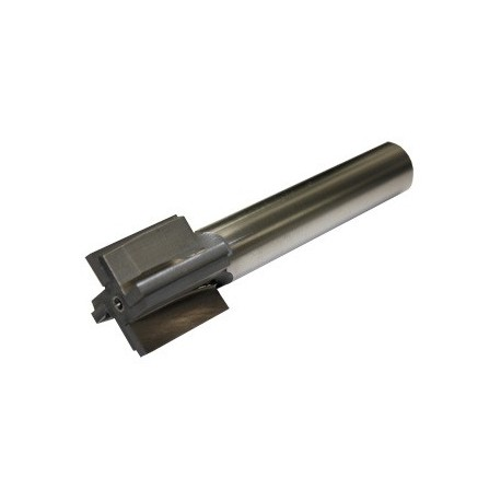 "Recoil Lug Reamer for 1 1/6""-16 +.010 Barrel Thread Shank"