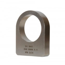 [001]0.500 BMG Stainless Steel Recoil Lug .500 Parallel