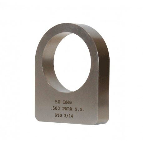 .50 BMG Stainless Steel Recoil Lug .500 Parallel
