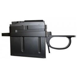 [Z001]Remington (LA) 700 Detachable Mag Bottom Metal - Flush Mount Military Style