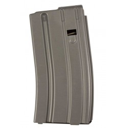 .223 Cal 20 Round Magazine Grey Finish Orange Follower