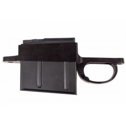[Z001]Remington (LA) 700 Detachable Mag Bottom Metal - Flush Mount Oberndorf M5 Style (3.715 Mag OAL)