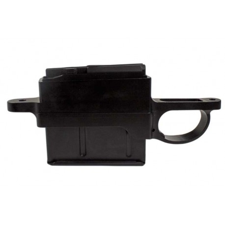 Remington (LA) 700 Stealth Detach Mag Bottom Metal - Orbindorf M5 Style