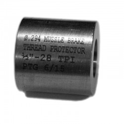 Muzzle Brake Cap Thread Protector (Smooth) 1/2-28 TPI