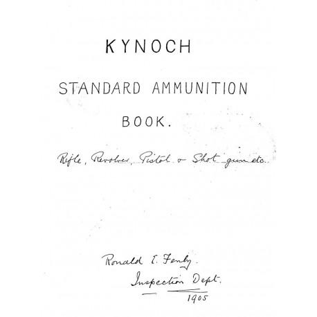 Kynoch LTD. Working Drawings