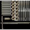 PTG Multi Caliber Premium Uni-Throater Kit - Spiral Flute