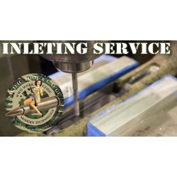 Winchester Bottom Metal Inletting Service (Does not include return Shipping)