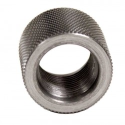 Stainless Steel Thread Protector 5/8 - 32 , .380 OAL, .865 OD)