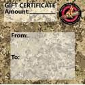 PT&G Gift Certificate