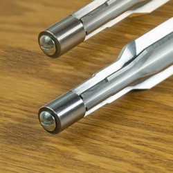 338-25 Winchester Super Short Magnum 30° Shoulder Chamber Reamer