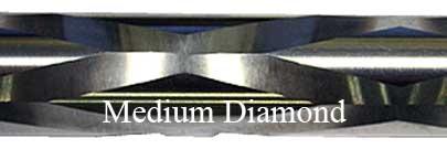 Medium Diamond Fluting Bolt