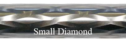Small Diamond Fluting Bolt