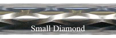 Small Diamond Fluting Bolt