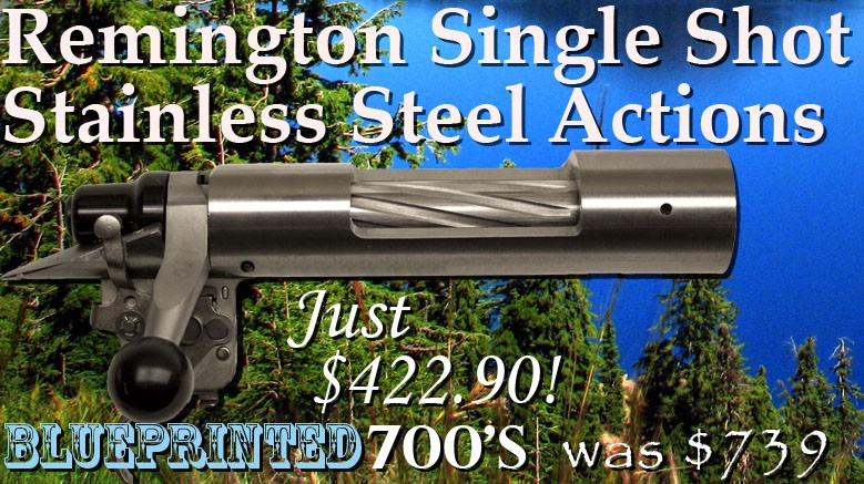 Remington Single Shot Action Sale