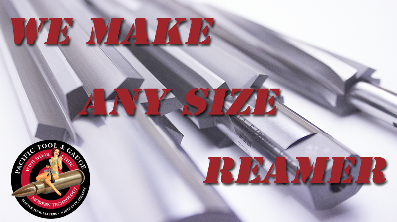 Any size reamer, call 541-826-5808
