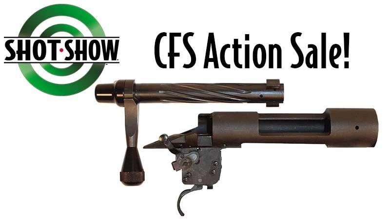 CFS Shot Show Remington 700 Action Sale