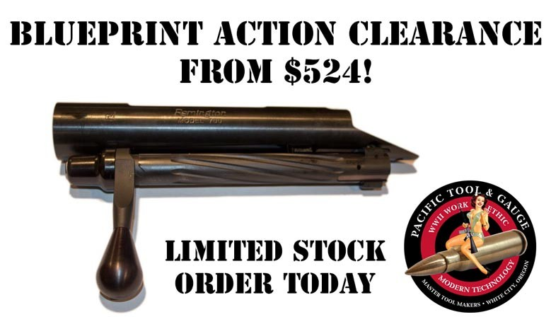 Blueprinted Remington 700 Action Sale