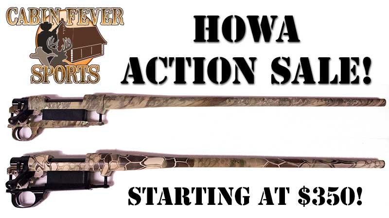 CFS Barreled Howa Action