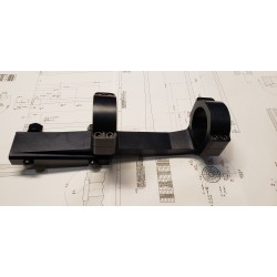 """PTG Extended Lightweight forward competition 1"""" scope mount"""
