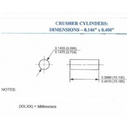Copper Crusher Cylinders