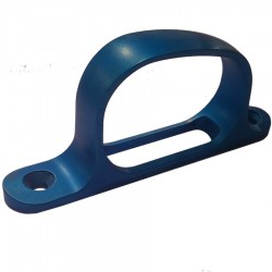 Remington 700 Trigger Guard - Blue Anodized Aluminum