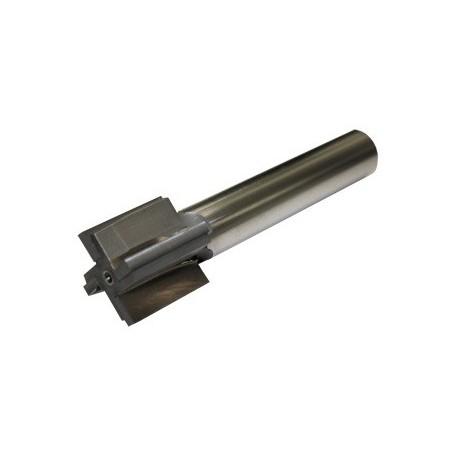 "Recoil Lug Reamer for 1 1/6""-16 +.010 Barrel Thread Shank"