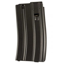 .223 Cal 20 Round Magazine Black Finish Orange Follower