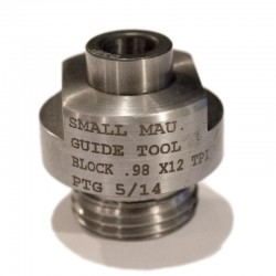 """Bolt Face Truing Cutter Guide Small Mauser 0.98""""-12 Thread"""