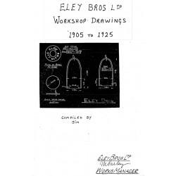 Eley Brothers Workshop Drawings 1905 - 1925