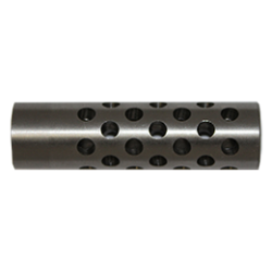 3:4 Hole Staggered 416SS Muzzle Brake SS