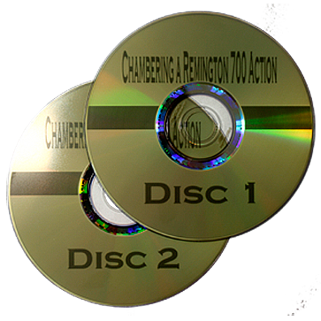 Chambering a Remington Action - 2 DVD Set