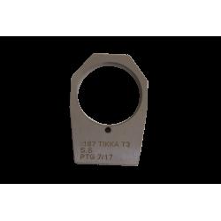 "[002]0.1875 (3/16"") Recoil Lug Tikka T-3 - SS"""