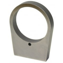 """[002](.350) Recoil Lug Tapered 1 Pin Hole - SS"""""""