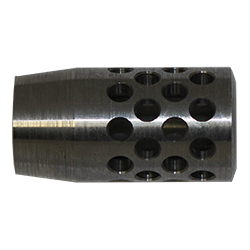 Standard Muzzle Brake .936 OD 1.8 OAL .250 ID 5/8-28 TPI