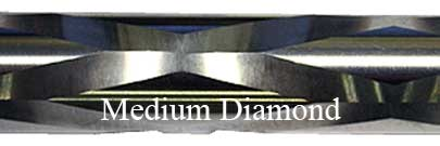 Medium Diamond Fluting Bolt