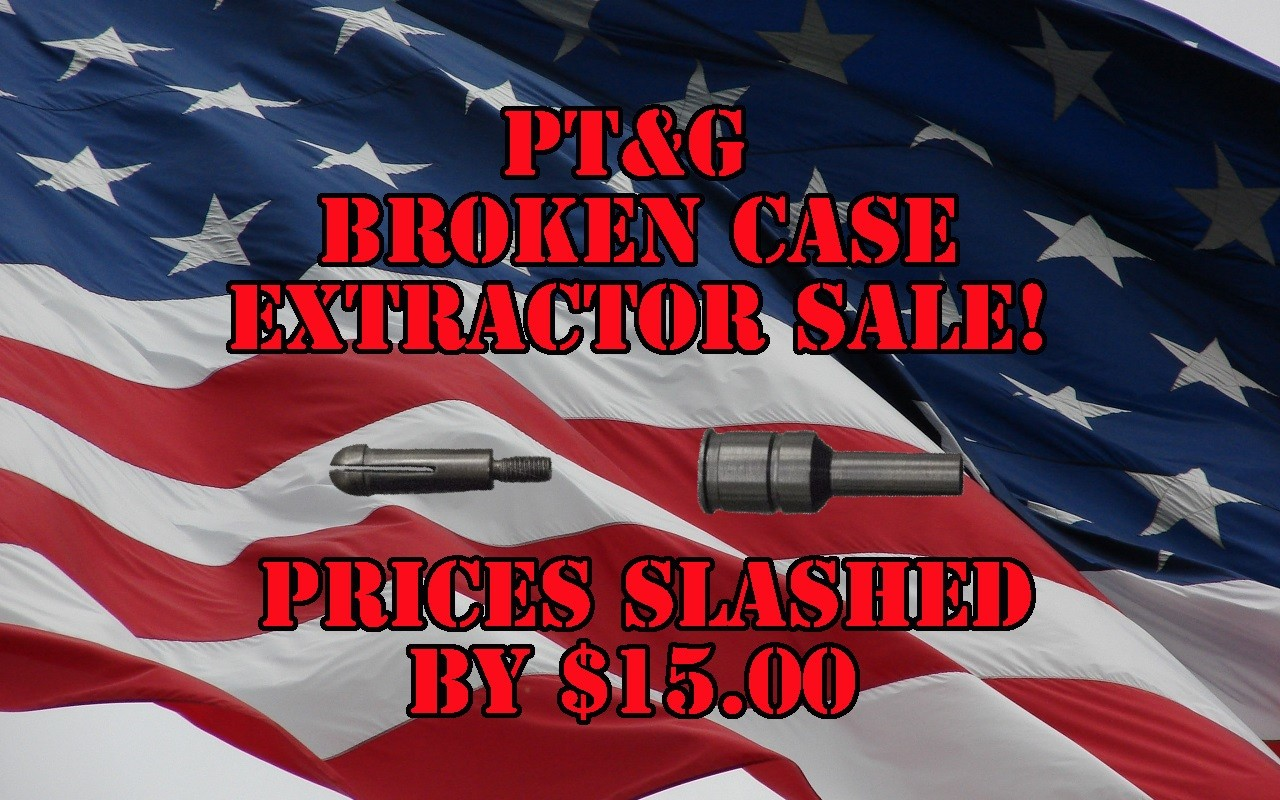 Broken Case Extractor Sale!